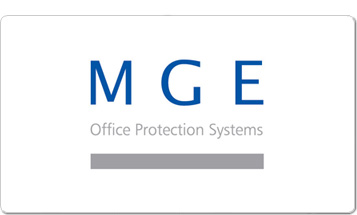 MGE Office Protection Systems Logo
