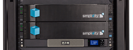 Eaton 5P UPS and SimpliVity