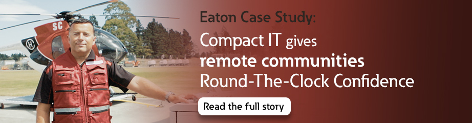 Eaton Case Study: ServerWorks Zero Local Touch compact IT solution