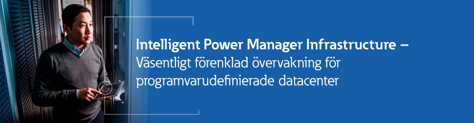 Intelligent Power Manager Infrastructure