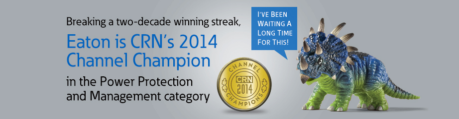 Eaton is CRN's 2014 Channel Champion