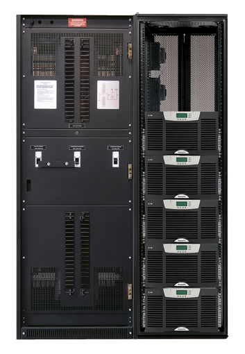 The BladeUPS PDU is intended to be the perfect complement to a BladeUPS 208-208V 60 kVA parallel system