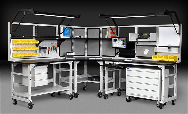 Techbench And Techorganizer Desk Amp Workbench System