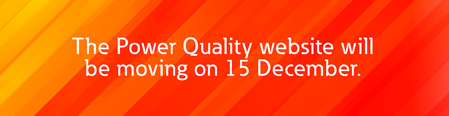 Power Quality website moving December 15th