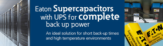 Eaton Supercapacitor Back-up Power Solution