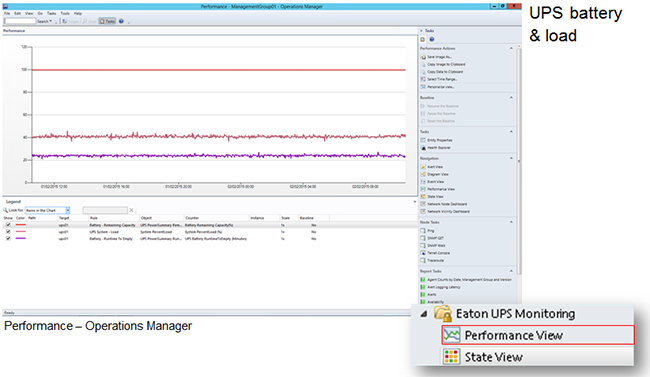 MS SCOM Management Pack Screen Shot